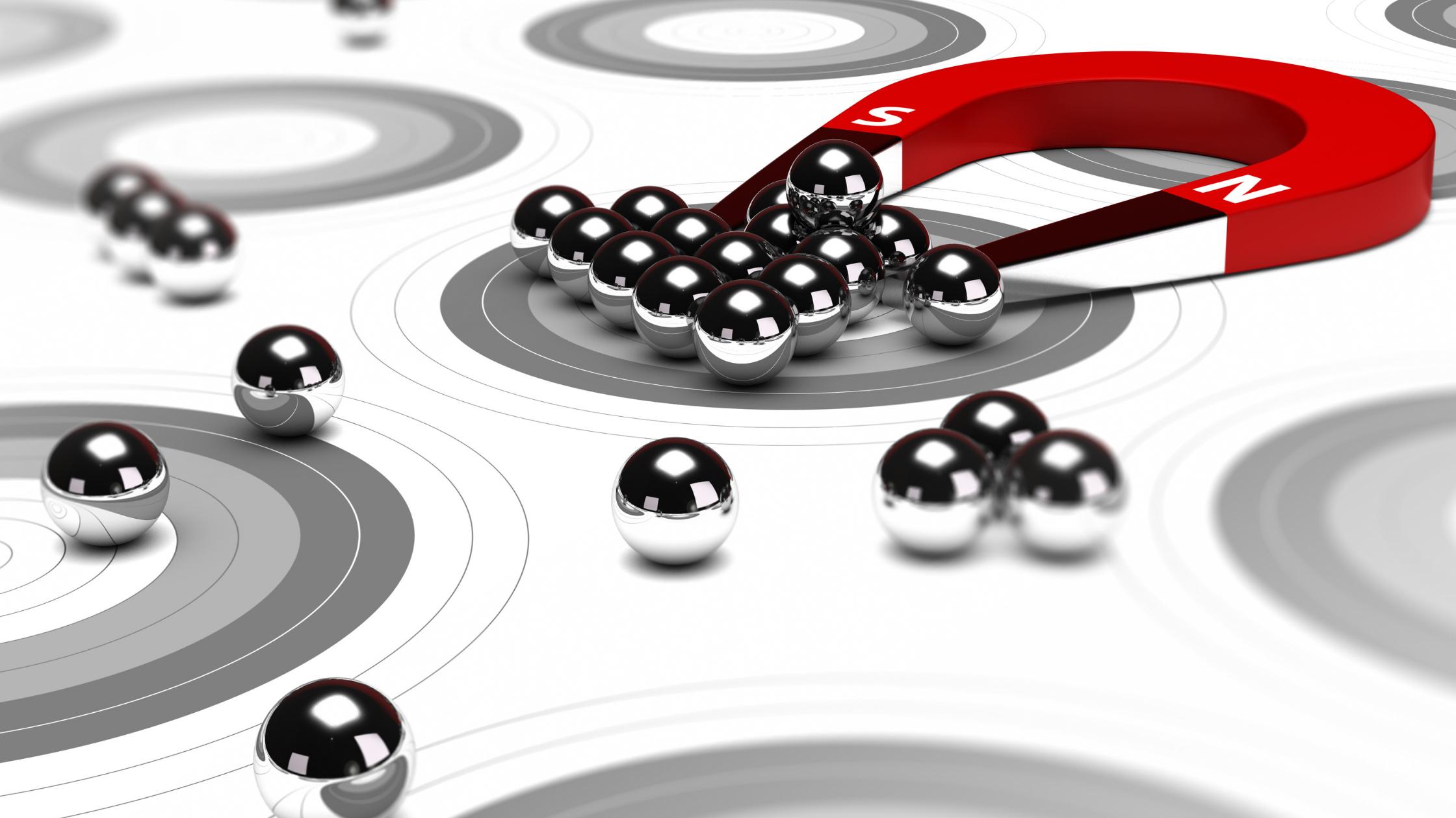 Magnetwirkung - Inbound Marketing